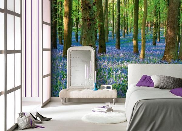 Murales naturaleza fotomurales for Murales en paredes interiores