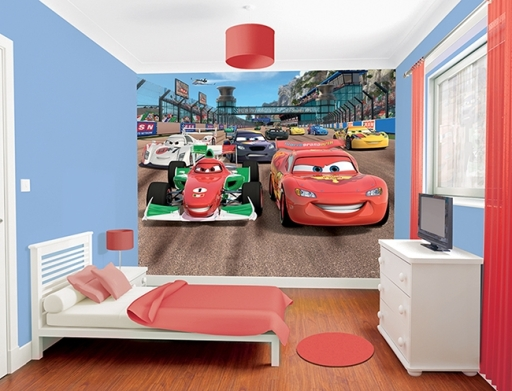 Fotomural Rayo McQueen Cars