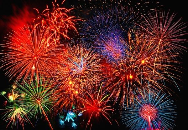 Fotomural Fireworks 131