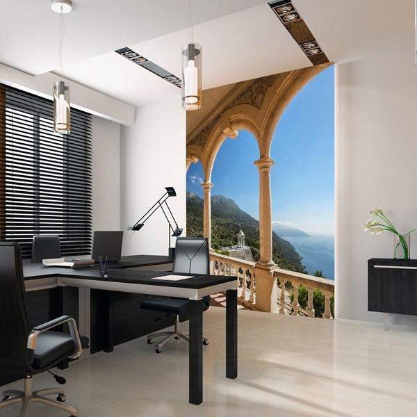 Interior decorado con Fotomural Mallorca Island 308