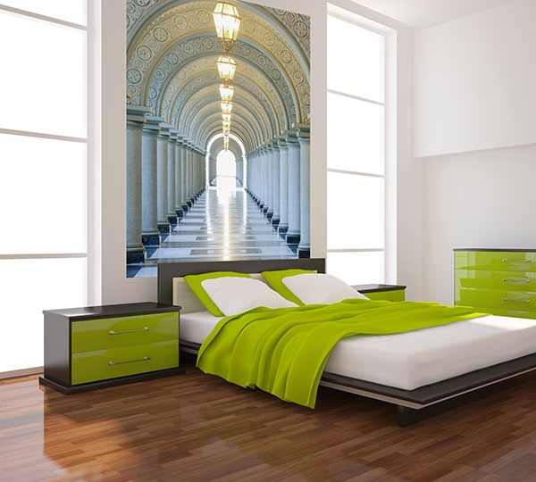 Interior decorado con Fotomural Archway 384