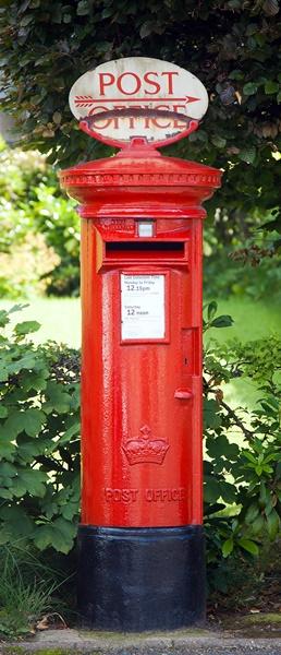 Fotomural Puerta Postbox 550