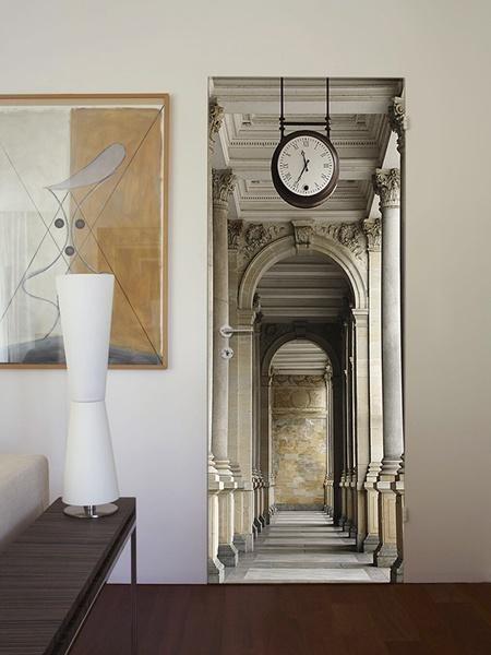 Interior decorado con Fotomural  Passageway 55