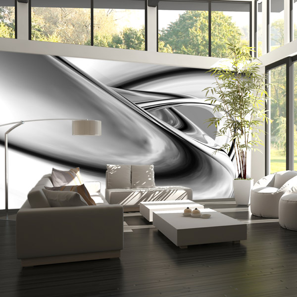 Interior decorado con Fotomural  METAL DRIFTING 193