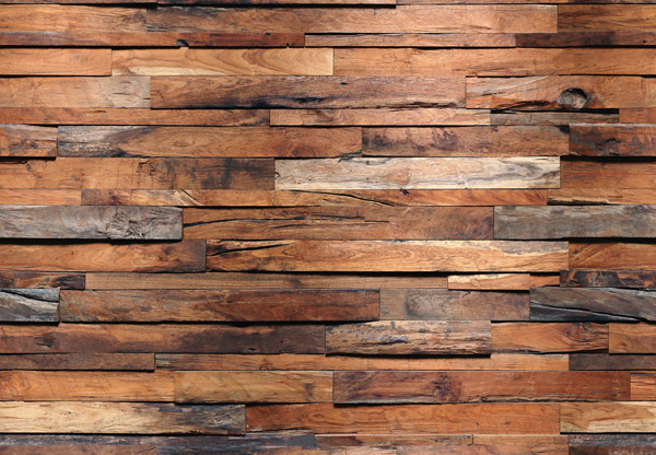 Fotomural Wooden Wall 150