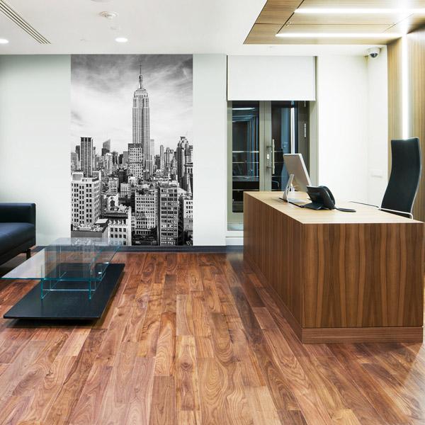 Interior decorado con Fotomural Empire State 310