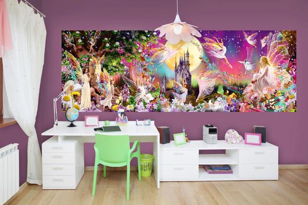 Interior decorado con Fotomural Fairyland 311
