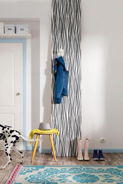 Interior decorado con Fotomural Zebra V1-718