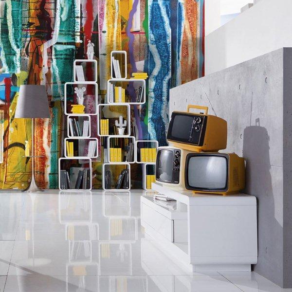 Interior decorado con Fotomural Clearwater XXI V10-767