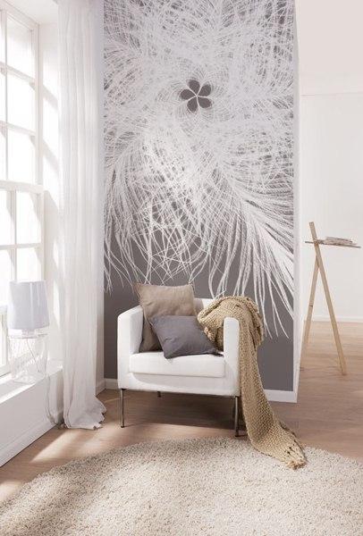 Interior decorado con Fotomural Ferderkern V2-766