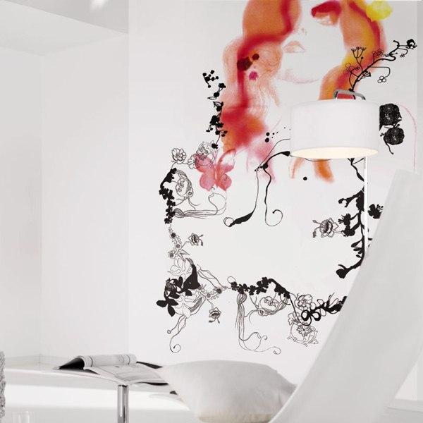 Interior decorado con Fotomural Pride V3-756