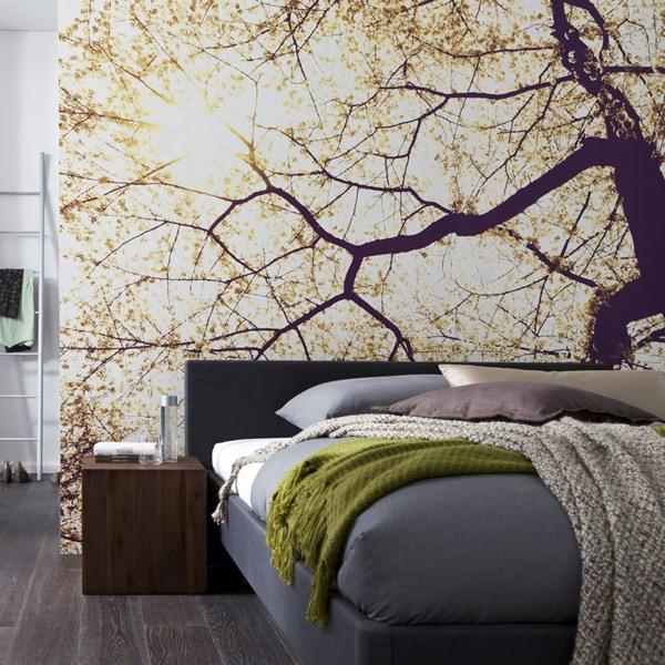 Interior decorado con Fotomural Sunshine V5-752