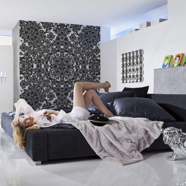 Interior decorado con Fotomural Urban Structure V5-765