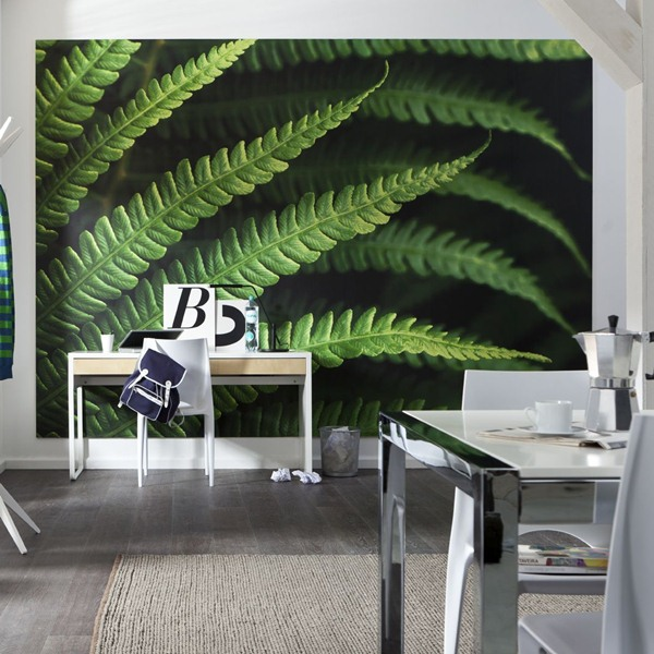 Interior decorado con Fotomural Farn V7-750