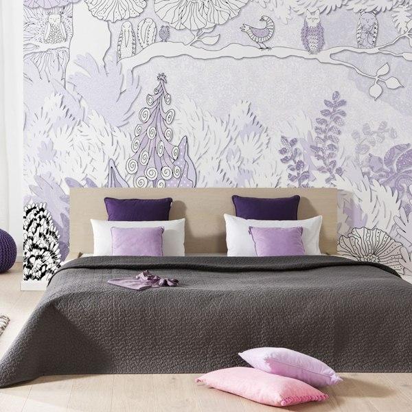 Interior decorado con Fotomural Dreaming V8-760