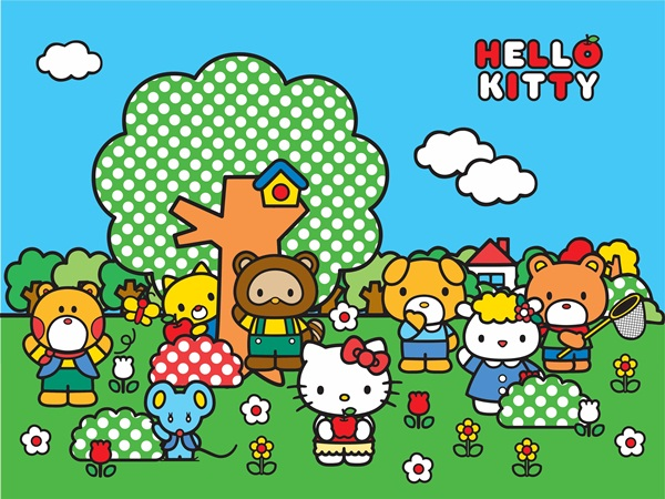 Hello Kitty Friends FT xxl 1472