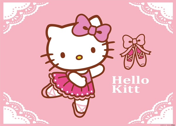 Fotomural Hello Kitty Ballet FTM 0855