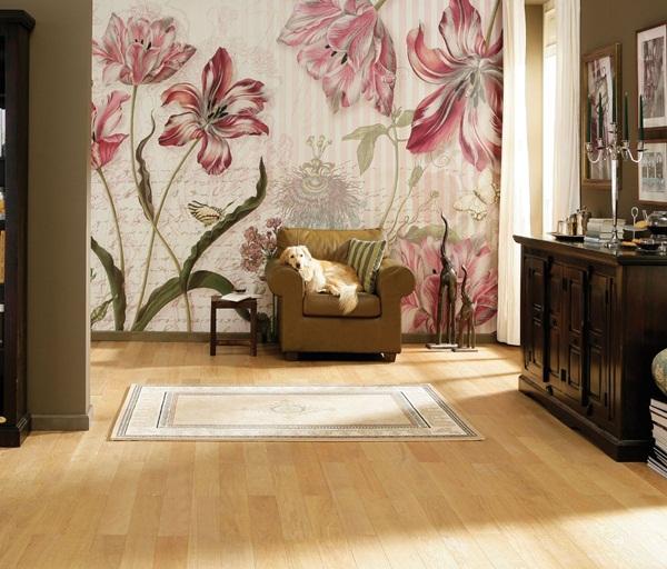 Interior decorado con Fotomural Merian 8NW-510
