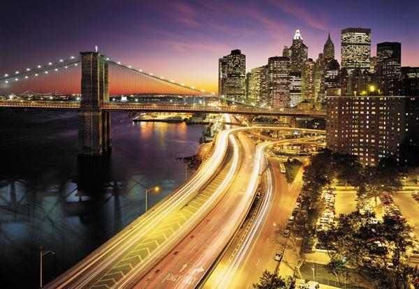 Fotomural New York City Lights 8NW-516