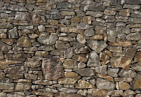Fotomural Stone Wall 8NW-727