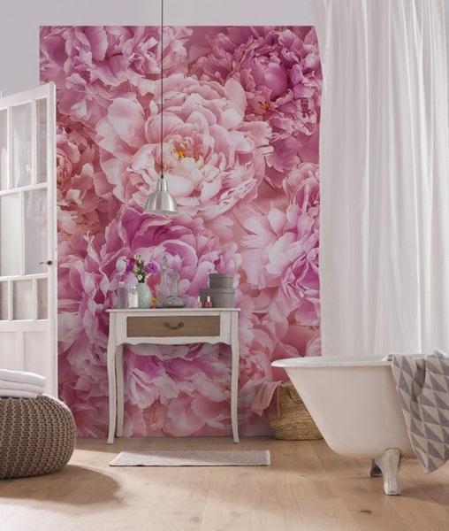 Interior decorado con Fotomural Soave XXL2-009