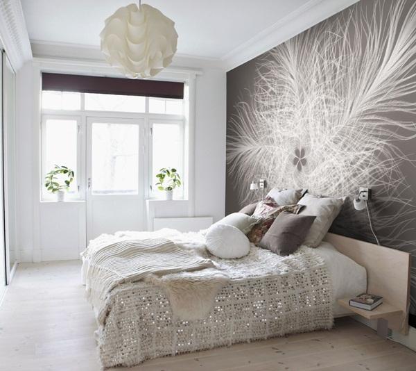 Interior decorado con Fotomural Federstern XXL4-006