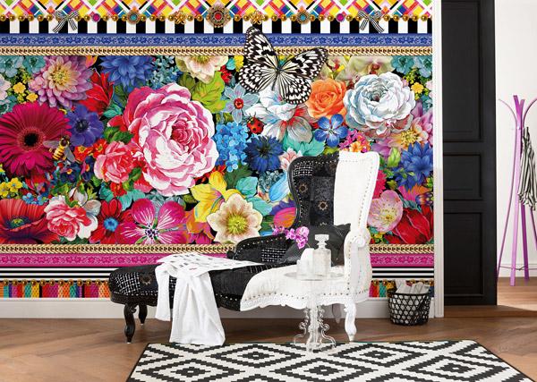 Interior decorado con Fotomural Melli Mello Jema 8-971